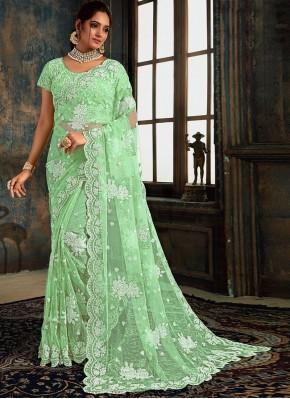 Praiseworthy Classic Designer Saree For Reception