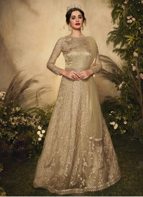 Praiseworthy Resham Engagement Floor Length Anarkali Suit