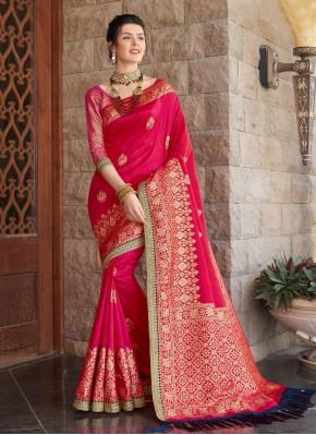 Precious Weaving Contemporary Saree