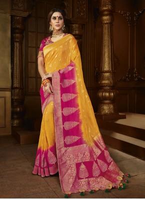 Precious Weaving Silk Traditional Saree