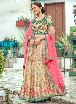 Prepossessing Silk Wedding Trendy Lehenga Choli