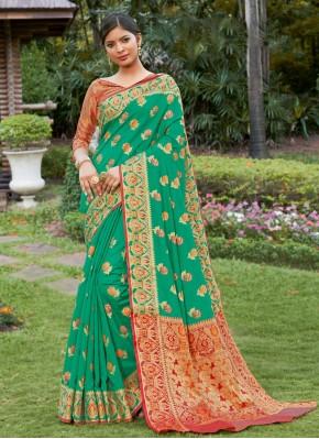 Prime Banarasi Silk Traditional Designer Saree