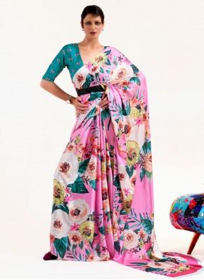 Prime Multi Colour Festival Printed Saree