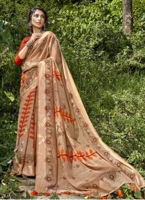 Prime Multi Colour Printed Cotton Printed Saree
