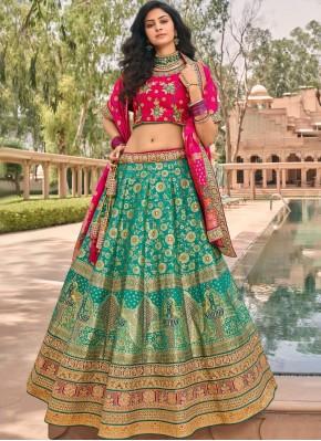 Prime Zari Banarasi Silk Lehenga Choli