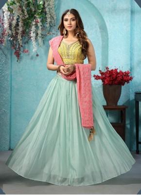Princely Chanderi silk Chaniya Choli