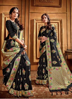 Princely Silk Weaving Trendy Saree