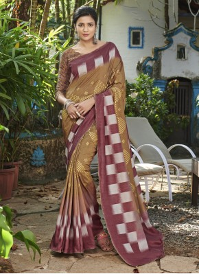 Pristine Digital Print Bollywood Saree