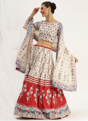 Pristine Silk Trendy Lehenga Choli