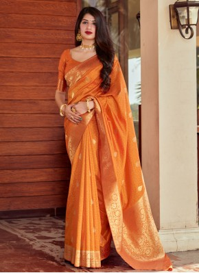 Pristine Silk Woven Designer Traditional Saree