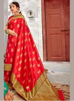 Prominent Banarasi Silk Designer Traditional Saree