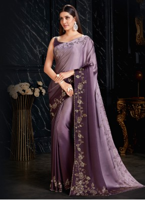 Prominent Fancy Fabric Festival Shaded Saree