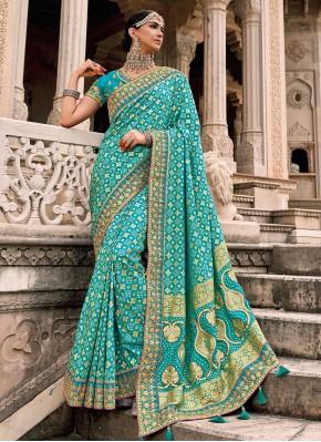 Radiant Embroidered Designer Saree