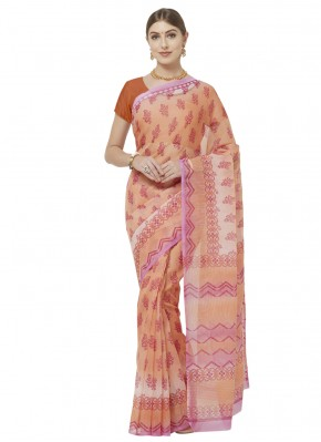 Radiant Printed Saree For Casual