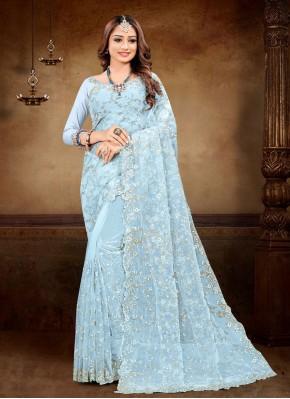 Radiant Resham Net Classic Designer Saree