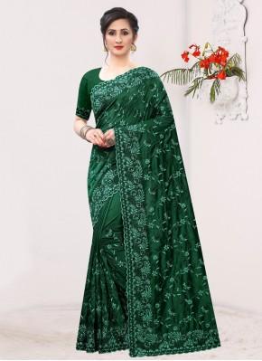 Radiant Silk Resham Bollywood Saree