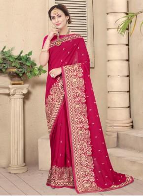 Rani Festival Silk Designer Traditional Saree