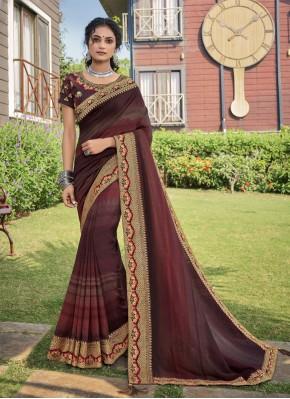 Ravishing Chanderi Multi Colour Traditional Saree