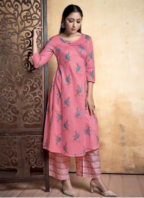 Ravishing Pink Designer Kurti