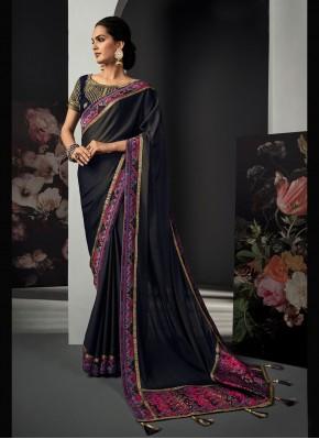 Ravishing Silk Ceremonial Designer Traditional Saree