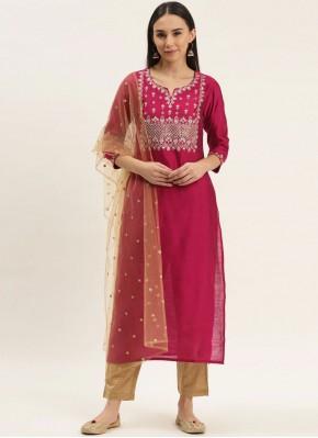 Ravishing Silk Rani Readymade Suit