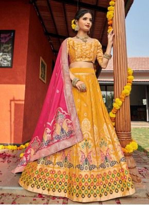 Ravishing Weaving Lehenga Choli
