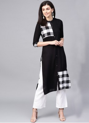 Refreshing Party Wear Kurti For Festival