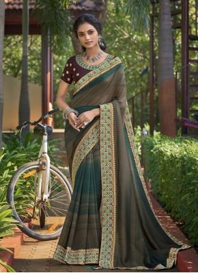 Refreshing Print Classic Saree