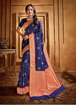Refreshing Silk Weaving Silk Saree