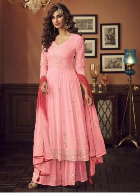 Remarkable Pink Salwar Suit