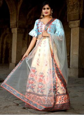 Renowned Multi Colour Festival Trendy Designer Lehenga Choli