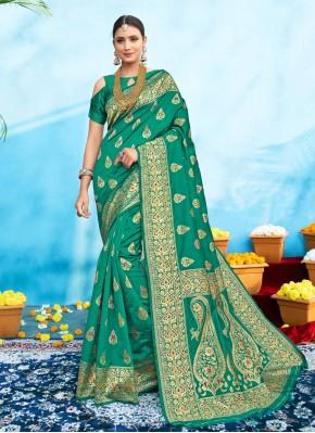 Renowned Weaving Ceremonial Designer Traditional Saree