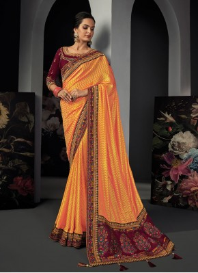 Royal Patch Border Classic Designer Saree