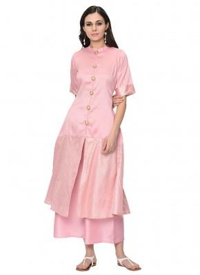 Ruritanian Pink Designer Kurti