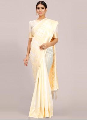 Savory Weaving Art Silk Traditional Designer Saree