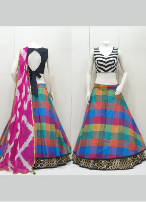 Scintillating  Garba Wear Chaniya Choli