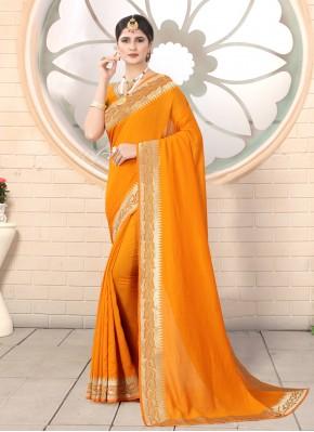 Silk Mustard Classic Designer Saree