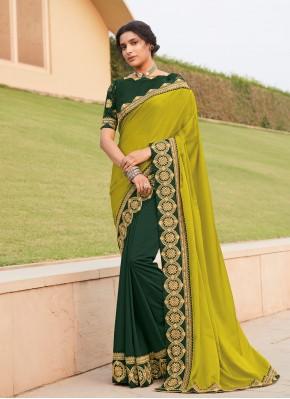 Silk Trendy Saree in Multi Colour