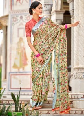 Simplistic Multi Colour Casual Traditional Saree