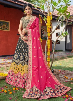 Specialised Multi Colour Lehenga Choli