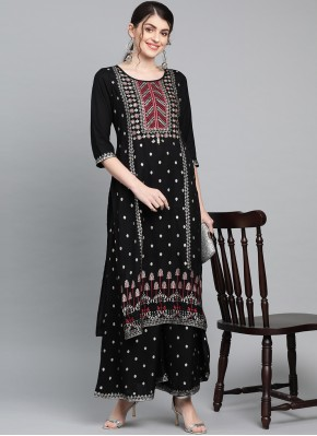 Specialised Printed Rayon Party Wear Kurti