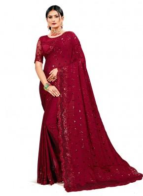 Spectacular Sequins Designer Saree