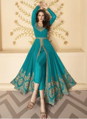 Splendid Faux Georgette Festival Anarkali Salwar Suit