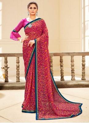 Staggering Multi Colour Traditional Saree