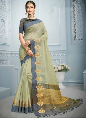 Staring Cotton Resham Casual Saree