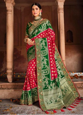 Staring Embroidered Engagement Designer Saree
