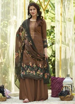 Sterling Cotton Designer Palazzo Salwar Kameez