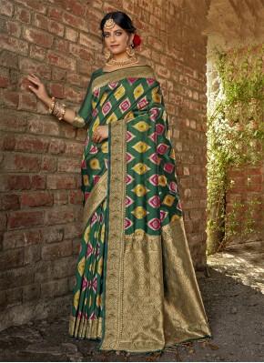 Sterling Weaving Banarasi Silk Traditional Saree