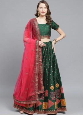 Striking Embroidered Wedding Trendy Lehenga Choli