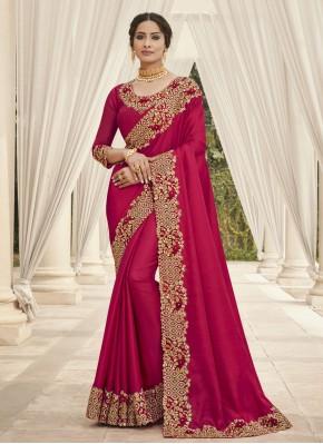 Stunning Embroidered Ceremonial Trendy Saree